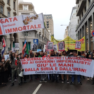 Il 25 Aprile con la Brigata Garibaldi Immortale e internazionalista